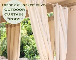 the best trendy u inexpensiveoutdoor curtain pict of outdoor rods style and wrap around concept outdoor