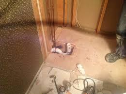 new shower drain