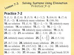 12 solving systems using elimination