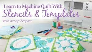 How to Quilt - Video Quilting Classes & Learn to Machine Quilt With Stencils & Templates Adamdwight.com
