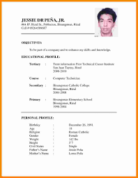 11 Curriculum Vitae Example Doc Theorynpractice