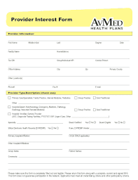 Company profile page for avmed health insurance co including stock price, company news, press releases, executives, board members, and contact information. Avmed Provider Credentialing Fill Online Printable Fillable Blank Pdffiller