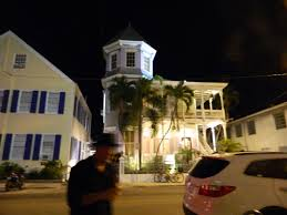 photo essay florida keys part key west the artist house at night on the ghost tour along our tour guide
