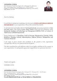 F And B Manager Sample Resume Delectable 48 Resume For Hotel Management Zasvobodu