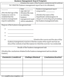 format of a management report management report template excel it monthly to bettylin co
