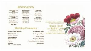 Modern Wedding Program Template Best Of 67 Wedding Program