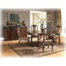 ashley furniture round dining table furniture north s dark brown dining room dining table ashley furniture