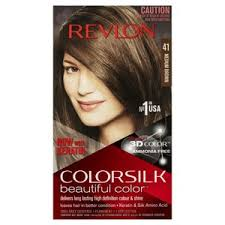 Revlon Professional Hair Colour Chart Revlon Colorsilk Medium Brown 41 Hair Color Coles Online