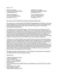 Letter Of Support For School Food Modernization Act