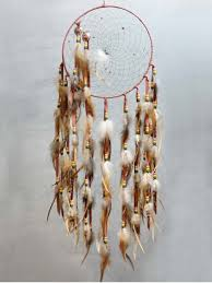 Double Dream Catchers Tan and Lavendar Double Dream Catcher SS Handcrafted Art Gifts 58