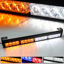 Snow Plow Emergency Lights 16 Led Emergency Warning Light Mini Bar Strobe Light For