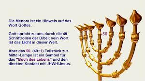 Die Menora Symbolik Und Wahre Bedeutung Die Struktur Der