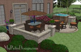 patio designs with fire pit and hot tub. Outdoor Patio Ideas With Hot Tub 06 Designs Fire Pit And O