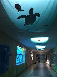 Finding Nemo Ceiling Light Finding Nemo Homecoming Hall Decorating Homecoming