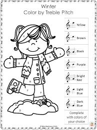 Color Yellow Worksheets Kindergarten By Number For Preschool ...