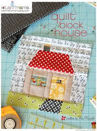Where Thou art – That – is Home - retro mama | Patchwork Blocks ... & Quilt Block House Patchwork PDF Sewing Pattern by retromama. Obviously a  for sale pattern, but super cute! Adamdwight.com