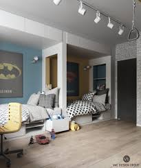 Quirky Bedroom Furniture Cute Kids Bedroom With Treehouse Bed Hammock Chairs Dining Wooden