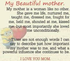 My Beautiful Mother Quotes Best of Pin By Peggy Newman On My Mother Pinterest