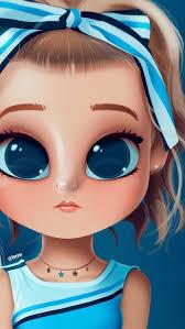 100+ Big eyes girl ideas | cute girl drawing, cute cartoon girl, girl  cartoon