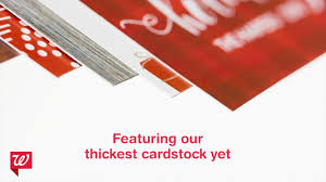 Walgreens New Premium Cardstock Youtube