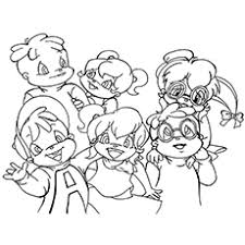Small Picture Top 25 Free Printable Alvin And The Chipmunks Coloring Pages Online