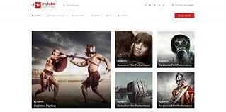 Video Website Template Inspiration Best HTML Video Website Templates Code Geekz