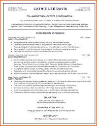 Event Planner Resume Skills Event Coordinator Resume Resume Name 8