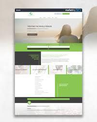 Acupuncture Web Design Design Of The Day Wellness Website Design Concept By Our