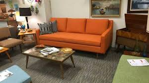 mid century modern furniture. Exellent Century Soft Back Mid Century Modern Sofa To Furniture
