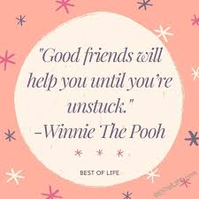 Winnie The Pooh Quote About Friendship Simple Disney Quotes About Friendship The Best Of Life