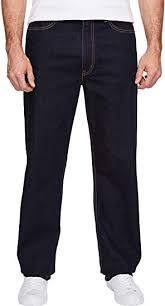 Levis Big Tall Mens Big Tall 550 Relaxed Fit Rinse 54 30 30