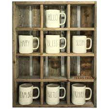 Farmhouse riser, rolling pin holder, rolling pin stand, kitchen stand riser, rolling pin display 1888rusticfarmhouse 5 out of 5. Oversize Coffee Mug Storage Cubbies Fit Many Starbucks Rae Dunn