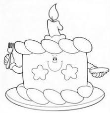 Small Picture Birthdays Online birthday cake Kids activity sheets and Kid