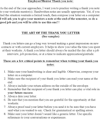 Free Employer Mentor Thank You Note Doc 31kb 2 Page S