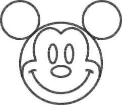 ミッキーマウスのイラスト簡単な絵の書き方 誰でも上手にあの