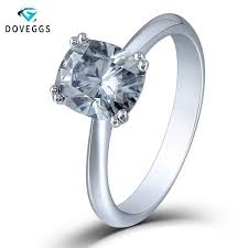 <b>DovEggs Sterling Solid S925</b> Silver 1.13CTW 5mm GH Color ...