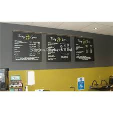 wall hanging chalkboard system