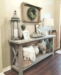 entry table decorations. Foyer Table Decor Ideas Medium Size Of Best Entryway Alluring Entry Decorations .