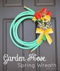 73 best Front DoorPorch Spring Decor images on Pinterest Garlands