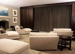 home theater room planning ideas beautiful home theater interior designs with lounge chairs coffee table
