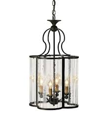 lamps currey company 9469 rupert 4 light pendant with old