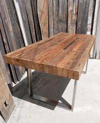 Dining Table Wood Raw Wood Table Etsy