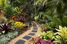 Small Picture Beautiful yet Unique Tropical Garden Design VizDecor