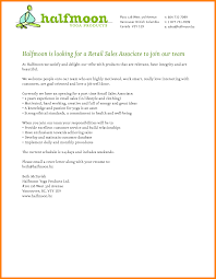 Ideas Collection 100 Retail Sales Associate Cover Letter In