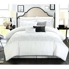 8 piece bedding set elegant grace embroidered white comforter interior decor mainstays