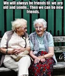 Image result for images of old friends meet in old age
