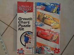 Details About New Kids Disney Pixar Cars Growth Chart Mega Puzzle Kit