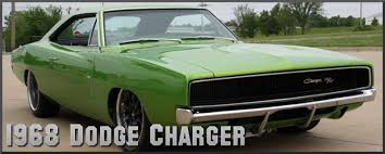 1968 Dodge Charger Factory Paint Colors