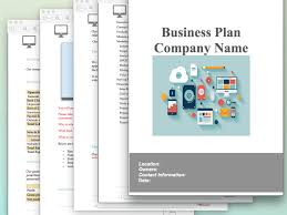 Business Plan Template Pptx B Plan Ppt Onwebioinnovateco Printable ...