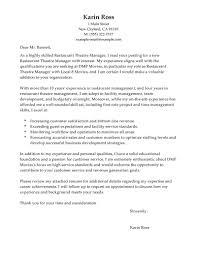 Stunning Sample Cover Letter For Restaurant Position About Best